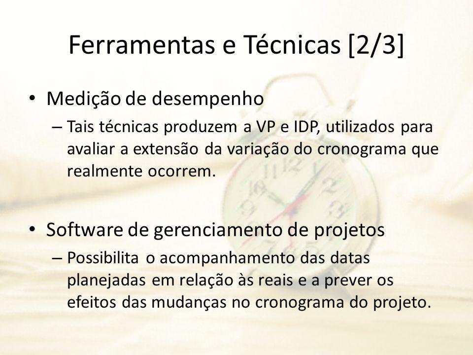 Ferramentas e Técnicas [2/3]